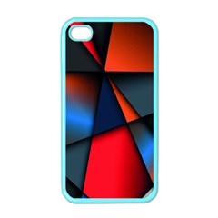 3d And Abstract Apple iPhone 4 Case (Color)