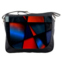 3d And Abstract Messenger Bags