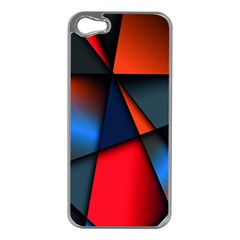 3d And Abstract Apple Iphone 5 Case (silver)