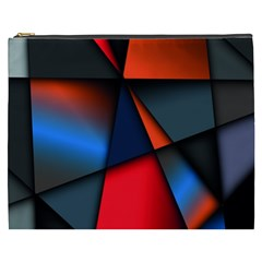 3d And Abstract Cosmetic Bag (xxxl)