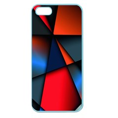 3d And Abstract Apple Seamless Iphone 5 Case (color)