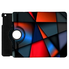 3d And Abstract Apple Ipad Mini Flip 360 Case