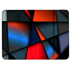 3d And Abstract Samsung Galaxy Tab 7  P1000 Flip Case