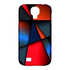3d And Abstract Samsung Galaxy S4 Classic Hardshell Case (pc+silicone)