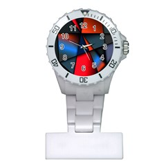 3d And Abstract Plastic Nurses Watch