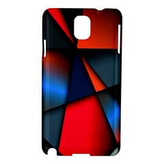3d And Abstract Samsung Galaxy Note 3 N9005 Hardshell Case