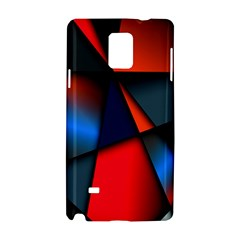 3d And Abstract Samsung Galaxy Note 4 Hardshell Case