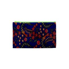 Batik Fabric Cosmetic Bag (xs)