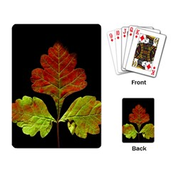 Autumn Beauty Playing Card
