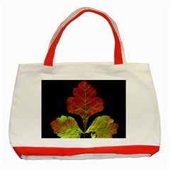 Autumn Beauty Classic Tote Bag (Red)