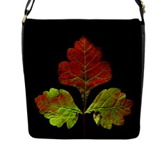 Autumn Beauty Flap Messenger Bag (L)