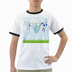 Baby Boy Clothes Line Ringer T-Shirts