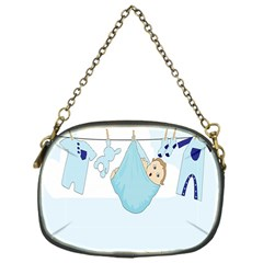 Baby Boy Clothes Line Chain Purses (One Side)