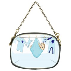 Baby Boy Clothes Line Chain Purses (Two Sides)