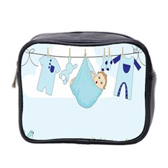 Baby Boy Clothes Line Mini Toiletries Bag 2-Side