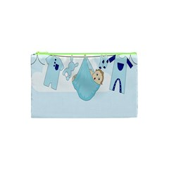 Baby Boy Clothes Line Cosmetic Bag (xs)