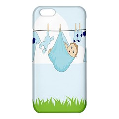 Baby Boy Clothes Line iPhone 6/6S TPU Case