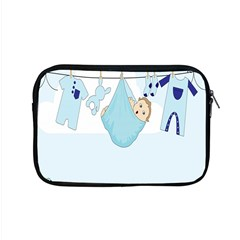 Baby Boy Clothes Line Apple Macbook Pro 15  Zipper Case