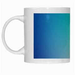 Background Blurry Template Pattern White Mugs
