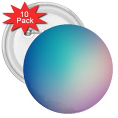 Background Blurry Template Pattern 3  Buttons (10 pack)
