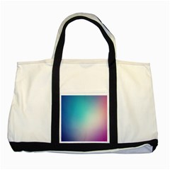 Background Blurry Template Pattern Two Tone Tote Bag