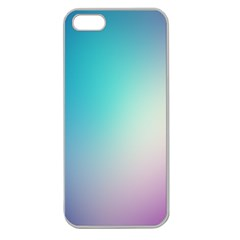 Background Blurry Template Pattern Apple Seamless iPhone 5 Case (Clear)