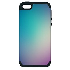 Background Blurry Template Pattern Apple iPhone 5 Hardshell Case (PC+Silicone)