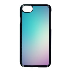 Background Blurry Template Pattern Apple Iphone 7 Seamless Case (black)