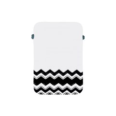Chevrons Black Pattern Background Apple iPad Mini Protective Soft Cases