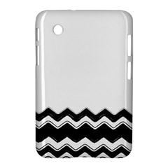 Chevrons Black Pattern Background Samsung Galaxy Tab 2 (7 ) P3100 Hardshell Case