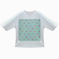 Butterfly Pastel Insect Green Infant/Toddler T-Shirts