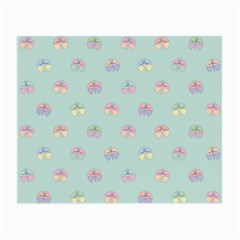 Butterfly Pastel Insect Green Small Glasses Cloth