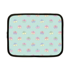 Butterfly Pastel Insect Green Netbook Case (Small)