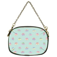 Butterfly Pastel Insect Green Chain Purses (One Side)
