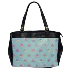 Butterfly Pastel Insect Green Office Handbags