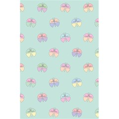 Butterfly Pastel Insect Green 5.5  x 8.5  Notebooks