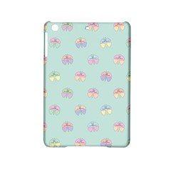 Butterfly Pastel Insect Green iPad Mini 2 Hardshell Cases