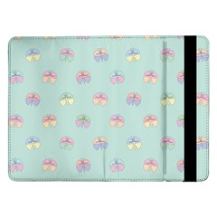 Butterfly Pastel Insect Green Samsung Galaxy Tab Pro 12.2  Flip Case