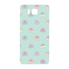 Butterfly Pastel Insect Green Samsung Galaxy Alpha Hardshell Back Case