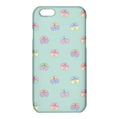 Butterfly Pastel Insect Green iPhone 6/6S TPU Case
