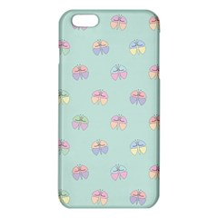 Butterfly Pastel Insect Green iPhone 6 Plus/6S Plus TPU Case