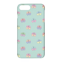 Butterfly Pastel Insect Green Apple Iphone 7 Plus Hardshell Case