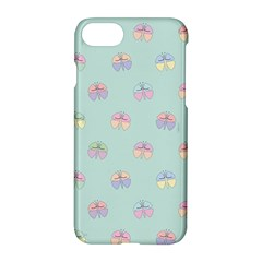 Butterfly Pastel Insect Green Apple Iphone 7 Hardshell Case