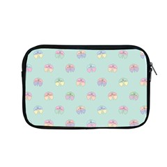 Butterfly Pastel Insect Green Apple Macbook Pro 13  Zipper Case