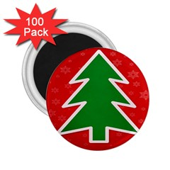 Christmas Tree 2.25  Magnets (100 pack)