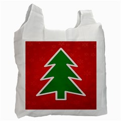 Christmas Tree Recycle Bag (One Side)