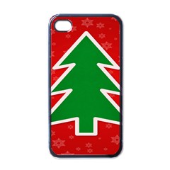 Christmas Tree Apple iPhone 4 Case (Black)