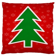 Christmas Tree Large Cushion Case (Two Sides)