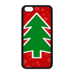 Christmas Tree Apple iPhone 5C Seamless Case (Black)