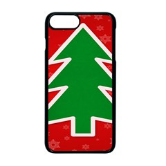 Christmas Tree Apple Iphone 7 Plus Seamless Case (black)